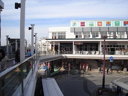 北習志野の駅ビル・・・今日オープン